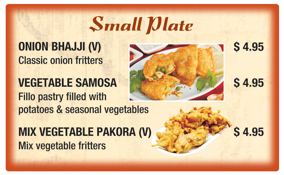 Sitar - Small Plates